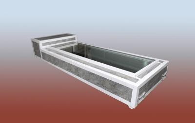 Poza Capac frigorific sicriu model CS1D